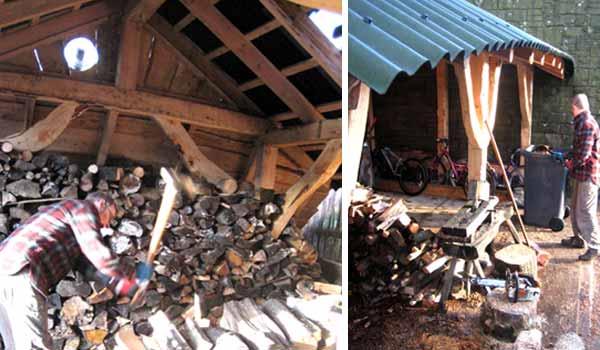 Our little barn - aka Robin's shed!
