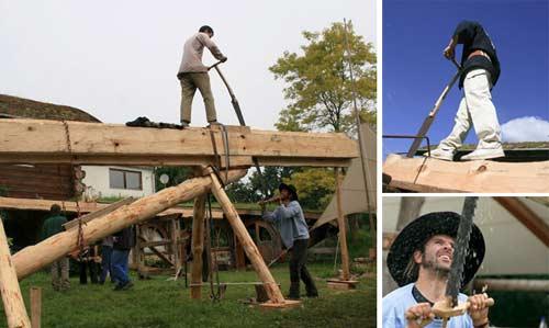 European rip sawing