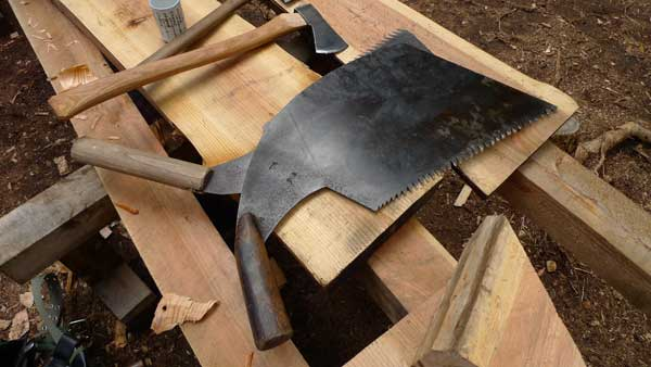 Traditional Japanese saws